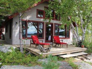 Private Island secluded on pristine Tupper Lake.