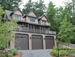 Luxury Adirondack Lakeview