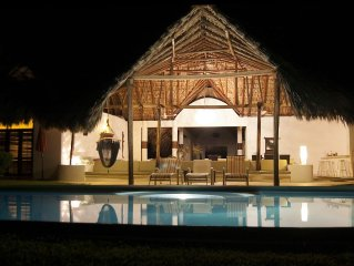 Beach front paradise; luxury villa -affordable rate. Perfect, relaxing escape!