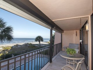 Immaculate Upscale Classy - Just Remodeled Direct Gulf Front 2BR/BA Paradise