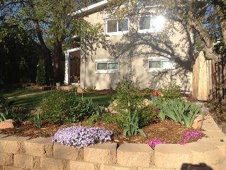 Chautauqua Neighborhood in Central Boulder/Lovely 4 BR/3 BA