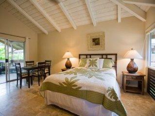 Charming Studio in Heart of Princeville - Near Best Beaches, Restaurants, Etc!
