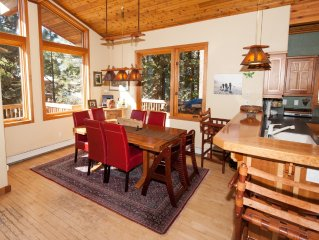 Alpine Meadows Panoramic View 4 Bedroom 4 Bath Minutes from Skiing 3000 Sq Ft