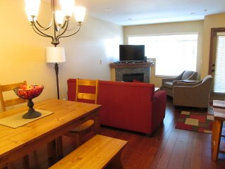 Casa Corea Whistler, Completely newly renovated, two bedroom, two bath townhome