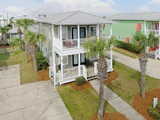 July 29-Aug 5 Open ! 3 Masters + Bunk Rm, Private Pool, 1/2 Block to Beach