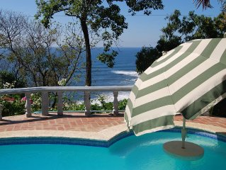 Lovely Ocean View Villa In Private Gated Residence Between Best Surfing Beaches