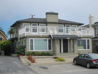 Beach House Overlooking Seacliff State Park and Rio Del Mar Beach, Aptos