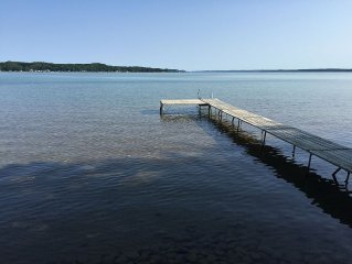 Torch Lake Frontage Cottage on South Shore - Anchor Cottage