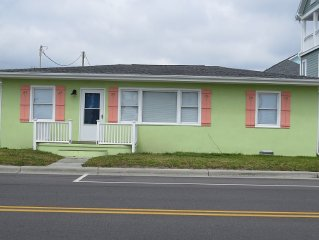 NEWLY RENOVATED Ocean View Cottage Across from Beach Access!
