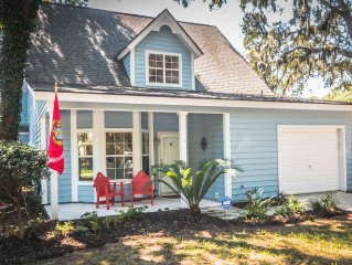 """Big Chill"" : Perfectly Roomy & Cozy : 5 Minutes To Parris Island And Beaufort"