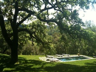 Private Wine Country Retreat - 3 BR/2 BA on 8 Acres with Pool