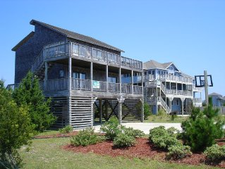 Moondance - One Lot From Oceanfront, Pool, Hot Tub, Quiet Neighborhood, Big View