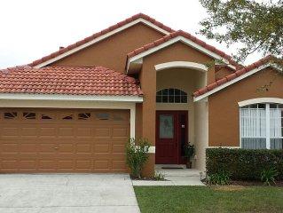Disney/Orlando Vacation Rental - Beautiful 5 Bedroom bugalow pool Home