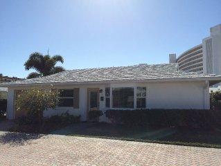 Beach Villa on Siesta Key-Complete Renovation Reveals a beautiful showplace.