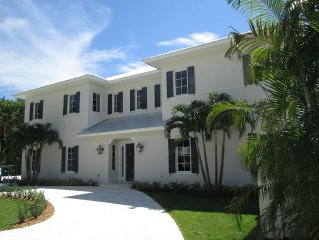 Grand and elegant home, directly across from Delray Beach