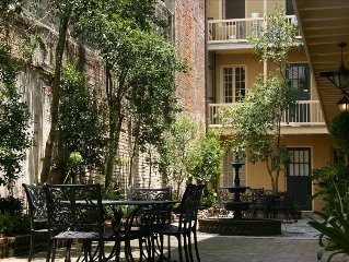 Spectacular Ground Floor 1 Bedroom French Quarter Condo