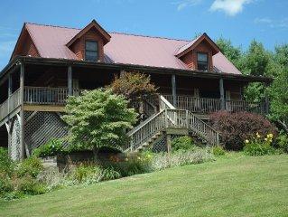 Beautiful Blue Ridge Views, Beautiful Pastoral Setting - HH Mtn Happy