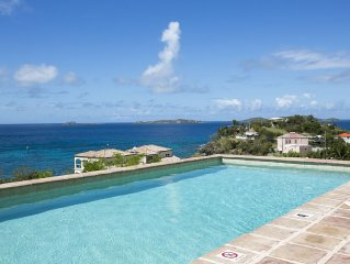 New luxury 2 BR/2BA Villa - walk to town - Stunning Views