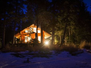 The Cabins at Kenai Lake!   Alaska-Real-Simple