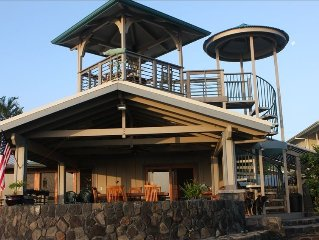 Honolii Black Sand Beach Vacation Rental