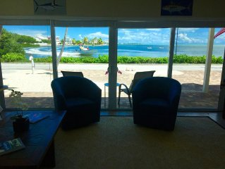 WOW!   PRIVATE POOL, OCEAN FRONT,  & DOCK Sister house next-door VRBO#1034656
