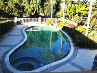 5 Acre 4 BR RESORT Home w/ BIKE ACCESS to the BEACH & Private POOL