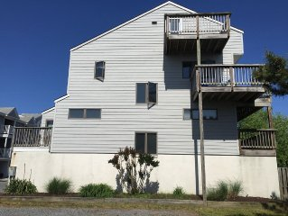Townhouse With Great Bay And Sunset Views In Dewey & One Block From The Ocean