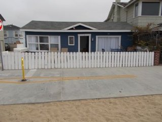 2 Bedroom 1 Bath Beach Front Cottage