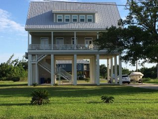 Beautiful, Two-story House On The Water With 150' Private Pier!