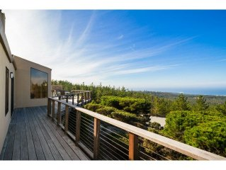 Spectacular Oceanview Pebble Beach Three Bedroom Home Sleeps Six