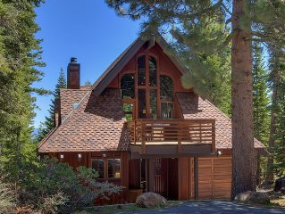 Your Tahoe Tree House is *Designer Decorated* Cozy. New Appliances
