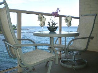 Oceanfront * Air Conditioned * Top Floor * Large Lanai * Updated!