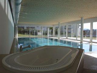 Indoor Swimming Pool, Private Gardens, Spacious M