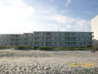 A Newly Remodeled, Oceanfront, 2 Bedroom, 2 Bath, First Floor Unit!