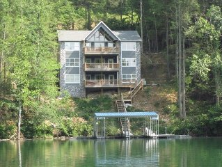 Norris Lake Rentals - 'The Big Dipper' Dining for 30, Wet Bar, Billiards