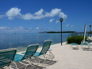 'Pleasant Palms' An Oceanside Condo In Downtown Islamorada In The Florida Keys