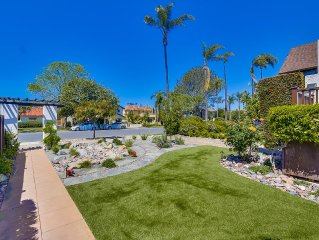 Newly Remodeled Classic Coronado Home, Only Blocks from Beach