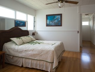 Paradise Found Waimanalo - Quiet & Private Beachside Suite (from $150, with a/c)