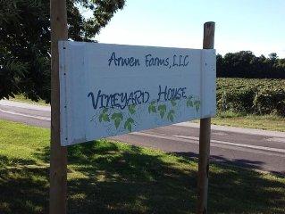 Arwen Farms, LLC  Vineyard House