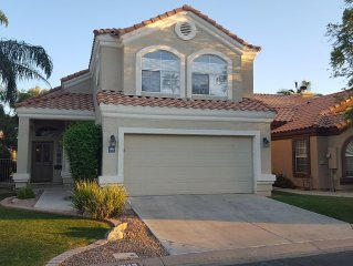 Tranquil Waterfront Home in Gilbert/Phoenix.  Best Location.  Gated Community.