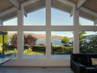 Across From The Beach On Okanagan Lake, Rental suited to Family Or Couples