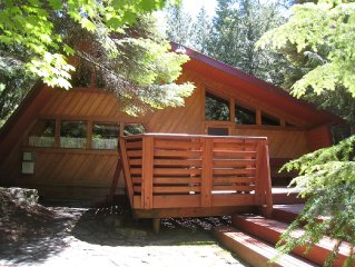 Mt. Rainier Vacation Home Sleeps 8; Hot Tub