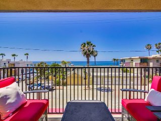 NEW LISTING with View! *Kai Vista* 2 master bedrooms and a walk to the beach