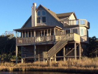 Enjoy Your Own Private Dock on the Soundfront in Frisco!