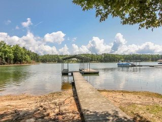 Clarks Hill Lake, Wildwood, Waterfront, Boat Dock, Fishing, Appling, GA