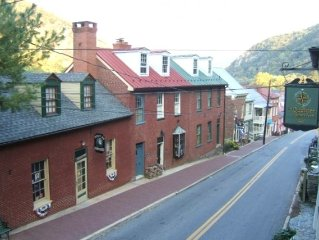 Downtown Harpers Ferry - In the heart of Harpers Ferry National Historical Park