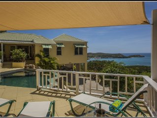 3 Br Luxury Villa Located Moments From English & Falmouth Harbours.