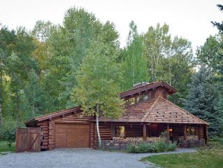 Charming Log Cabin on the Big Wood River