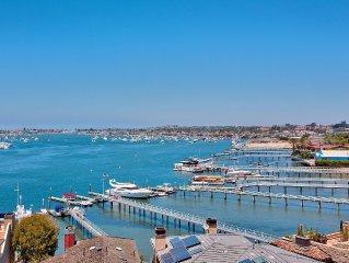 Beautiful Harbor Views in Corona Del Mar Newport