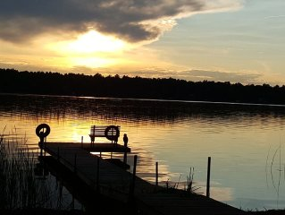 Perfectly secluded cabin minutes from Nisswa.